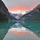 Lake Louise Sunrise by Kasia Nowak