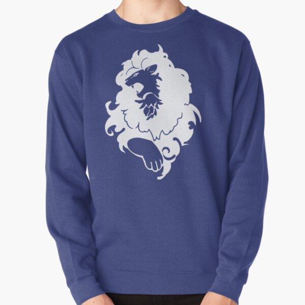 Fire Emblem™: Three Houses - Blue Lions Emblem [White] Pullover Sweatshirt
