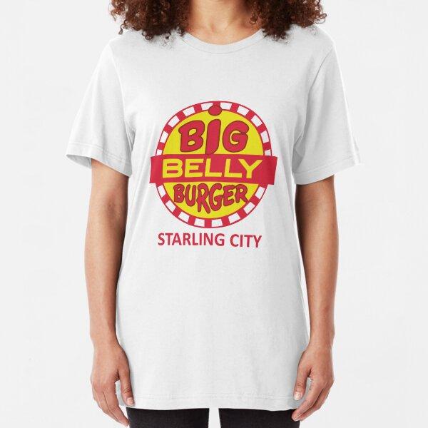 Big Belly Burger shirt - Starling City, Arrow, Oliver Queen Slim Fit T-Shirt