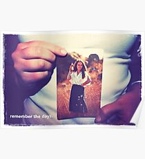 hands remember.  Poster