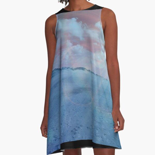 BEACH SUNSET A-Linien Kleid