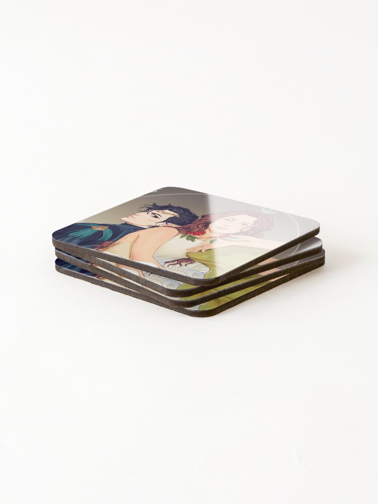 Alternate view of Cardan and Jude Coasters (Set of 4)