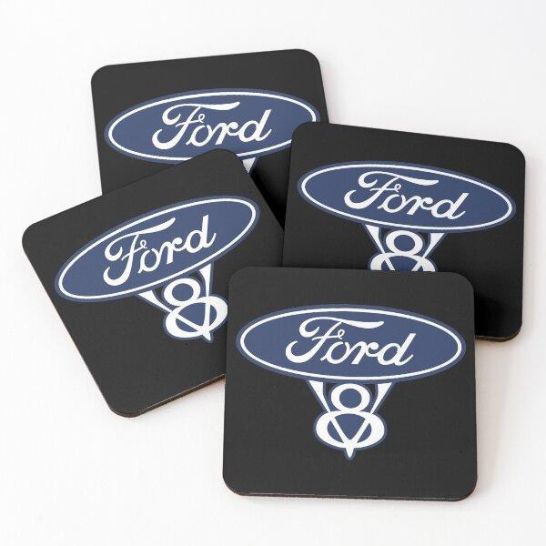 Ford V8 Coasters (Set of 4)