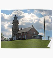 Old Fairport Harbor Lighthouse Poster