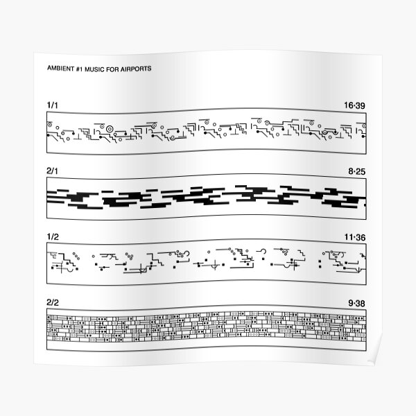 Music For Airports Poster