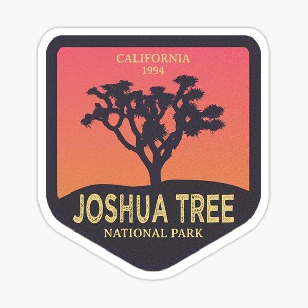 Joshua Tree National Park (Retro) Sticker