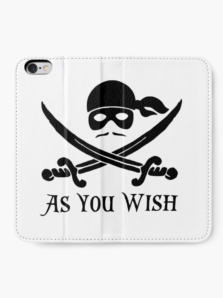Alternate view of As You Wish... Princess Bride Dread Pirate Roberts iPhone Wallet