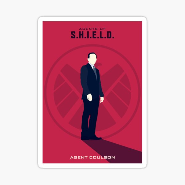 AoS Season 1 Characters: Agent Coulson Sticker