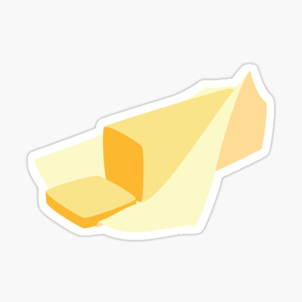 Stick of Butter Sticker