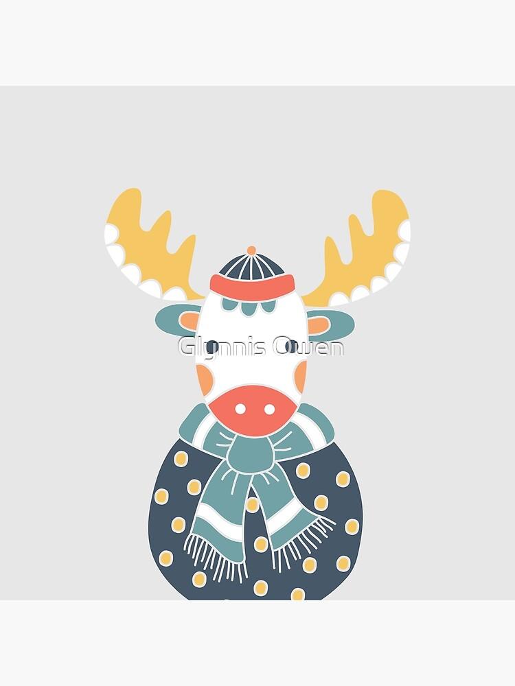 Friendly Moose by goggo101