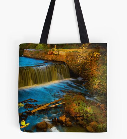 Walpole Town Forest III - Little water fall Tote Bag