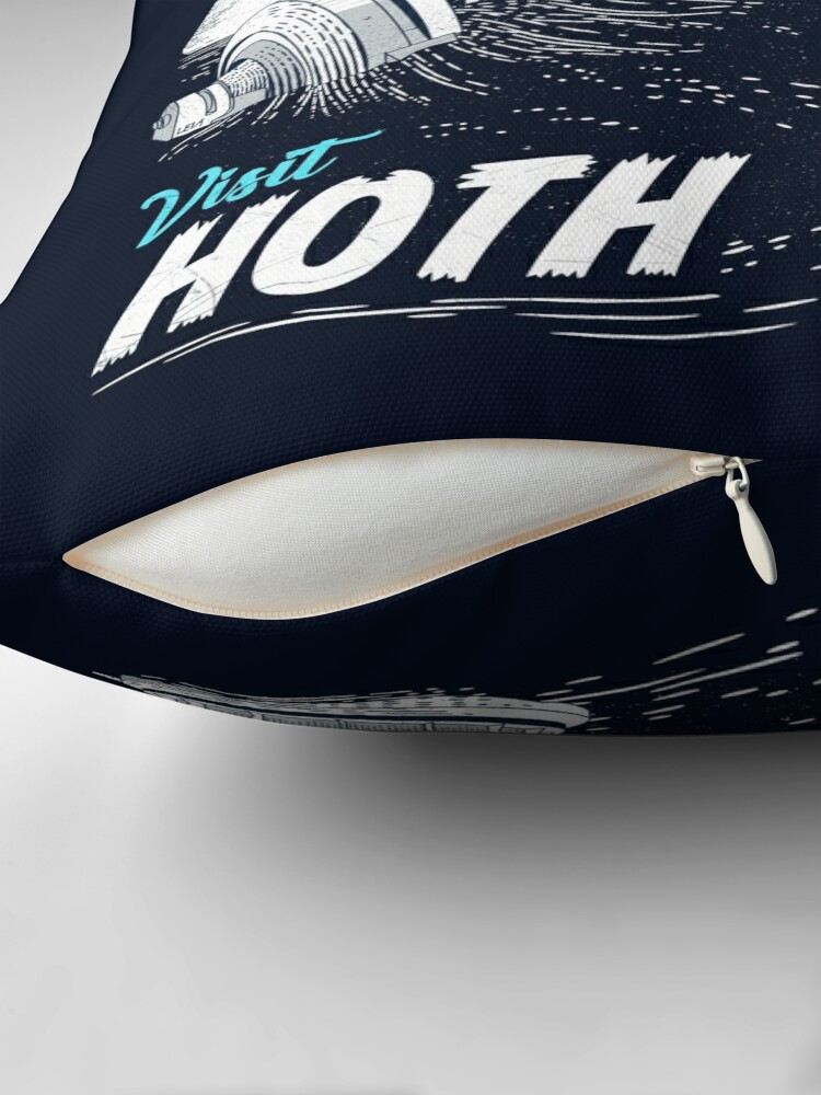 Alternate view of Visit Hoth Floor Pillow