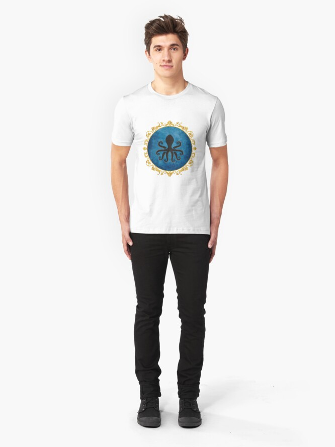 Alternate view of Lovecraft House Slim Fit T-Shirt