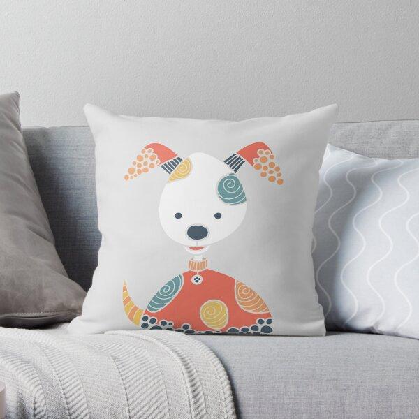 Cheeky Dog Throw Pillow