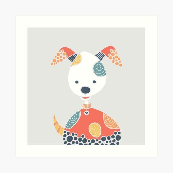 Cheeky Dog Art Print
