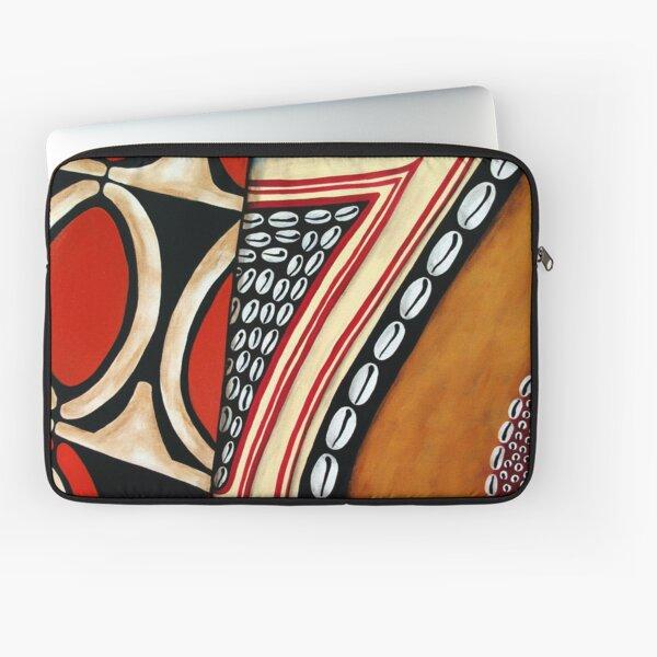 #396 - A Segments Of Life I - Artist Nathalie Le Riche Laptop Sleeve