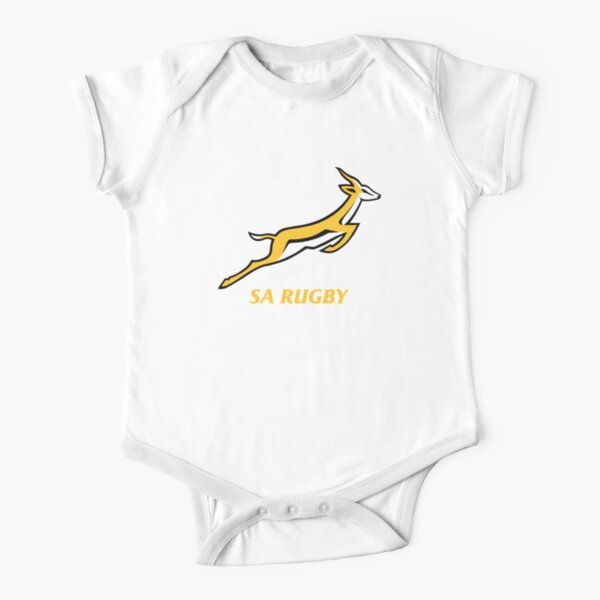 Springboks Rugby Short Sleeve Baby One-Piece