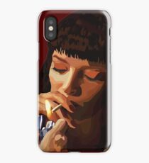 Pulp Fiction - Mia Wallace iPhone Case/Skin