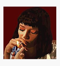 Pulp Fiction - Mia Wallace Photographic Print