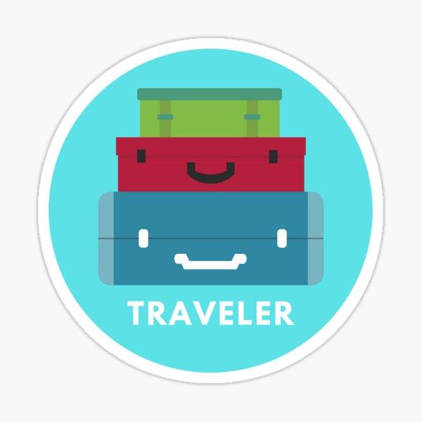Travel Badge Sticker Sticker