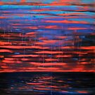 Indian Ocean Sunset 1 by Clare McCarthy