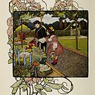 "Vintage Art from ""A little garden calendar for boys and girls"" book by Douglas E.  Welch"
