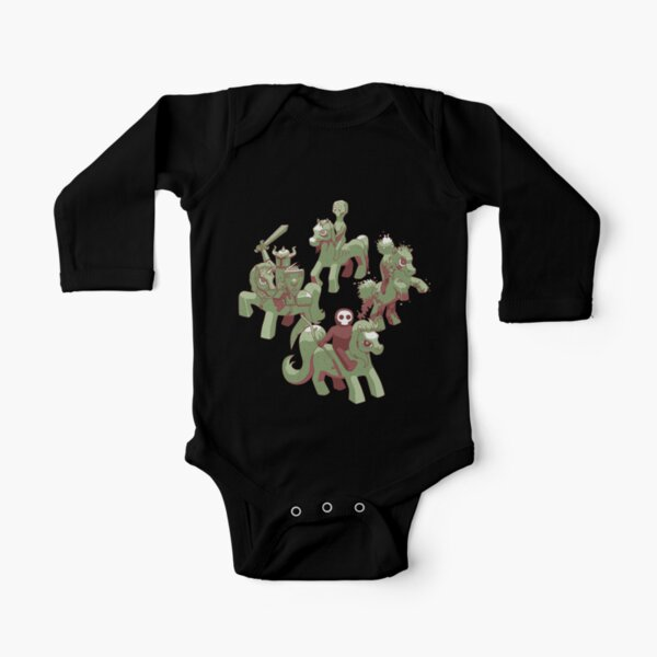 My Little Apocalypse Long Sleeve Baby One-Piece