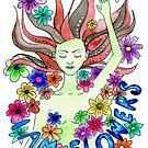 I AM FLOWERS by wonderfulhippie