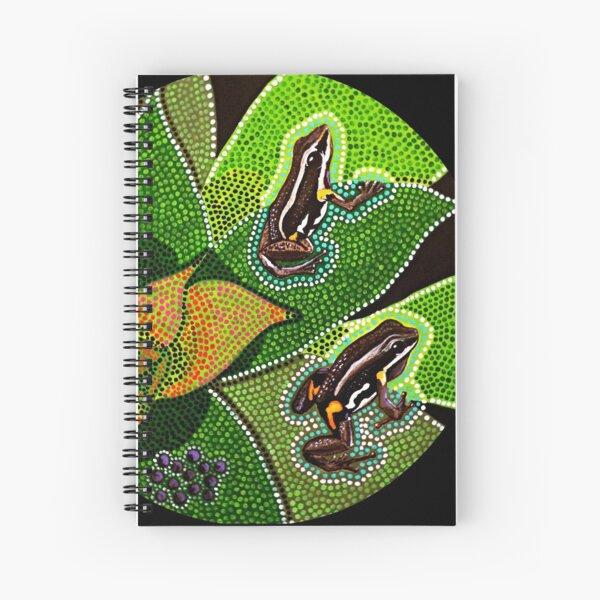 Amazonian Aboriginal Frog - Rana Aborigen Amazónica Cuaderno de espiral