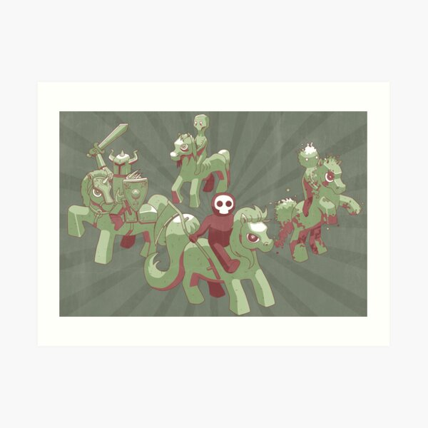 My Little Apocalypse Art Print