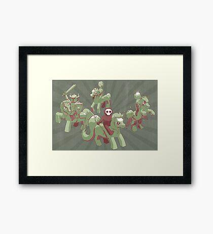 My Little Apocalypse Framed Print