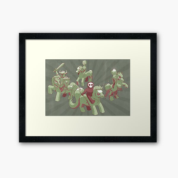 My Little Apocalypse Framed Art Print