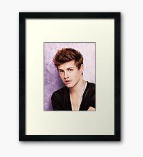 Xavier Samuel - Riley Biers Twilight Framed Print