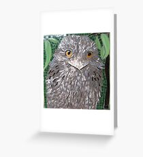 """""""Frogmouth"""" Greeting Card"""