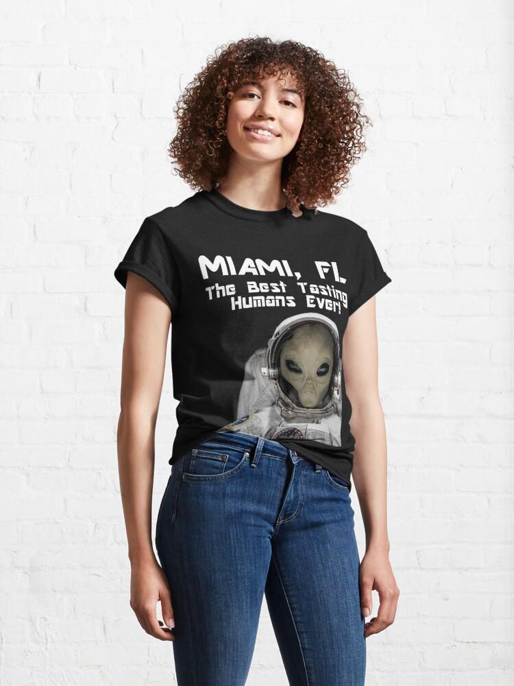 Alternate view of Miami, FL Best Tasting Humans Ever! Design  Classic T-Shirt