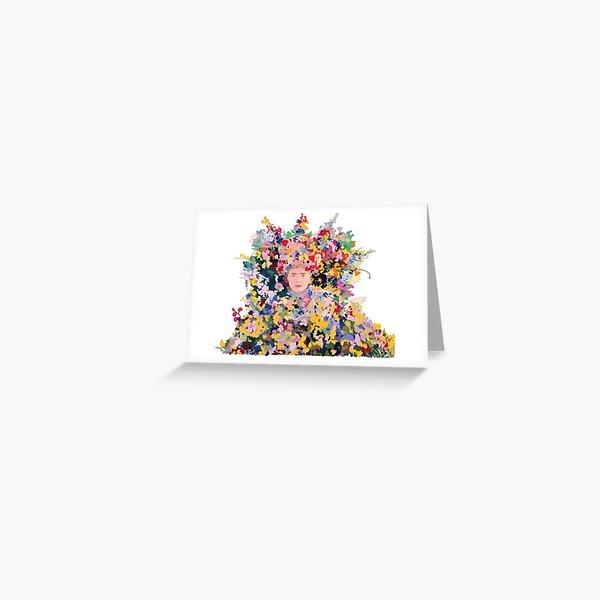 The Midsommar May Queen Greeting Card