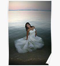Floating Dress Poster
