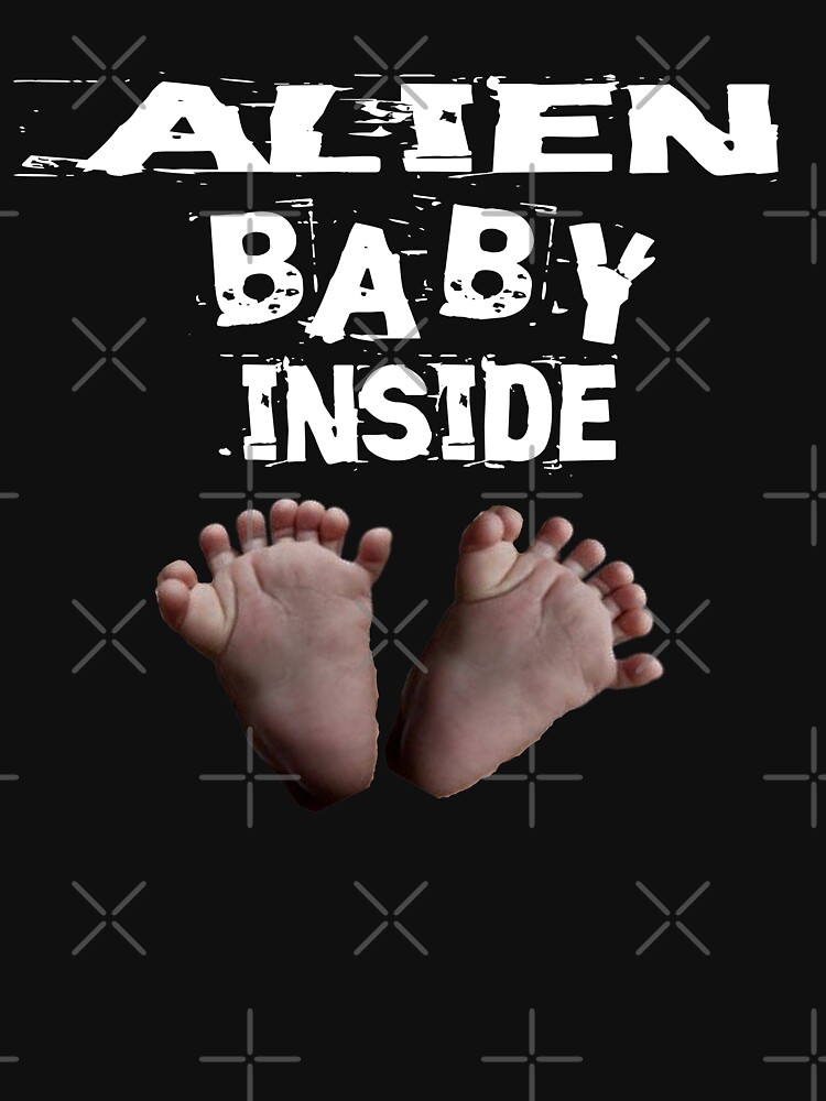 Alien Baby Inside Design  by Mbranco