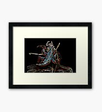 Neone groove broodmother Framed Print