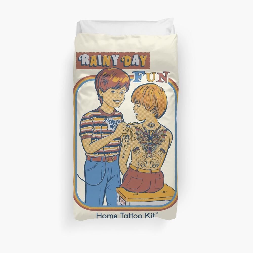 Rainy Day Fun Duvet Cover