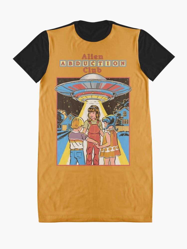 Alternate view of Alien Abduction Club Graphic T-Shirt Dress