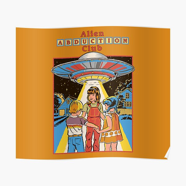 Alien Abduction Club Poster