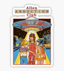 Alien Abduction Club Sticker