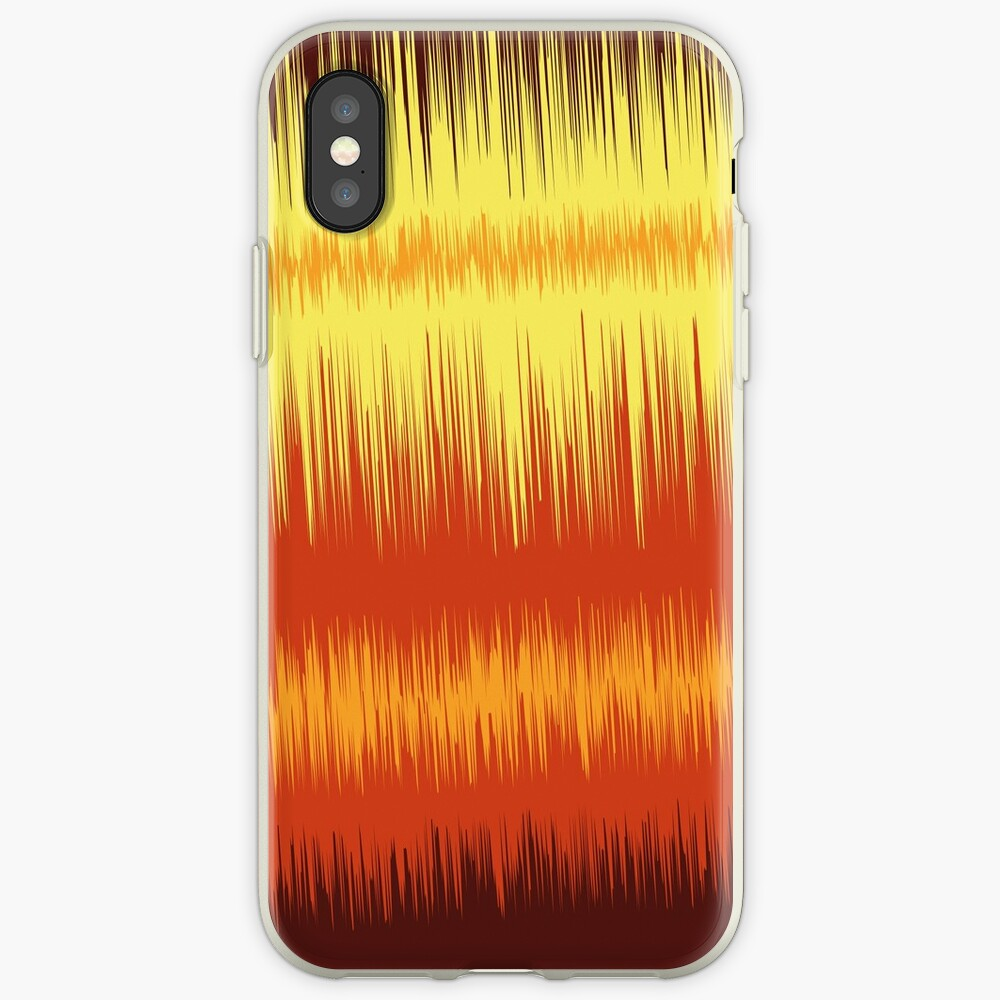 Fire Waves iPhone Case & Cover