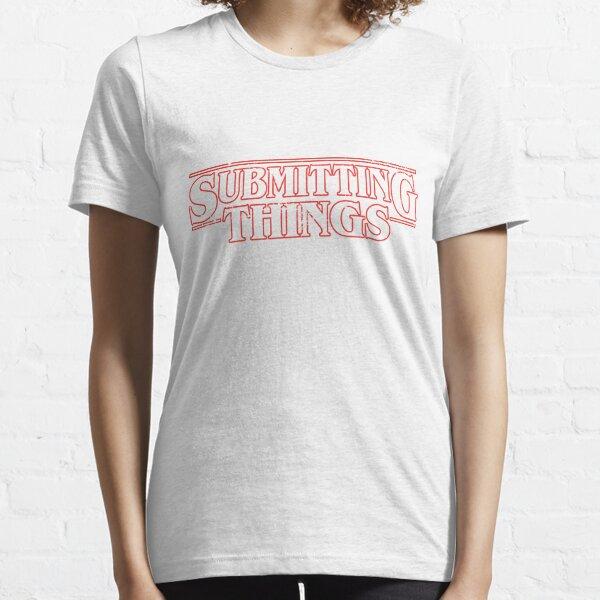 Jiu-Jitsu Tee Co Funny MMA Shirt Submitting Things BJJ Shirt Essential T-Shirt