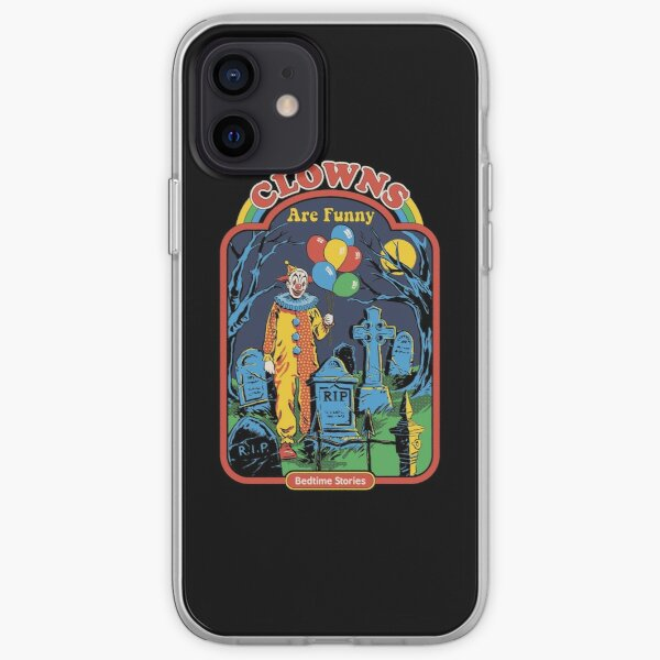 Clowns are Funny iPhone Soft Case