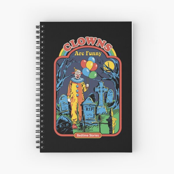 Clowns are Funny Spiral Notebook
