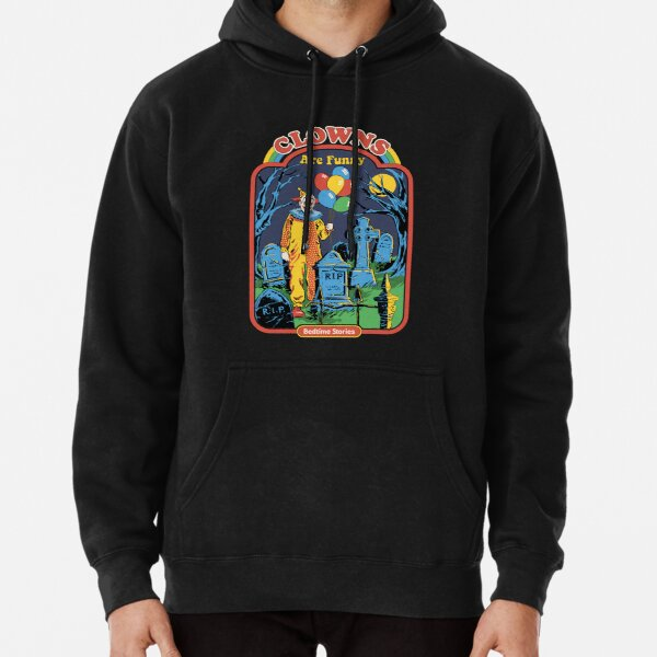 Clowns are Funny Pullover Hoodie