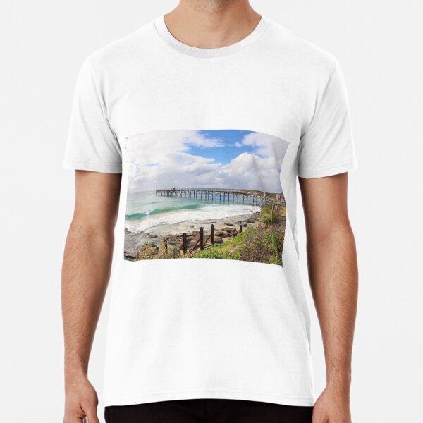 Catherine Hill Bay Pier Premium T-Shirt
