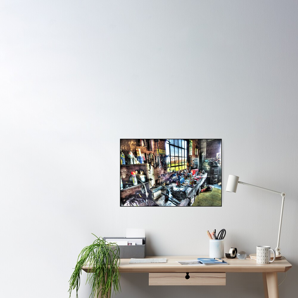 Jim's Workbench Poster